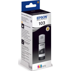 Epson - Epson 103-C13T00S14A Siyah Orjinal Mürekkep