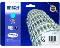 Epson - Epson 79-T7912-C13T79124010 Mavi Kartuş - Orijinal