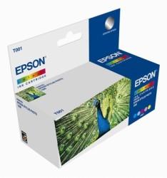 Epson - Epson T001-C13T00101120 Renkli Kartuş - Orijinal