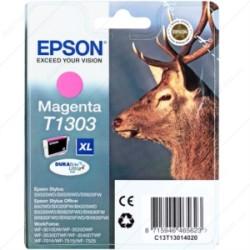 Epson - Epson T1303-C13T13034020 Kırmızı Kartuş - Orijinal