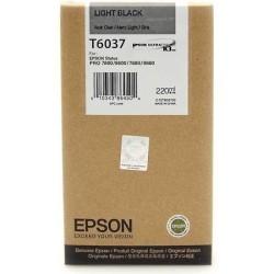 Epson - Epson T6037-C13T603700 Açık Siyah Kartuş - Orijinal