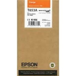 Epson - Epson T653A-C13T653A00 Turuncu Kartuş - Orijinal