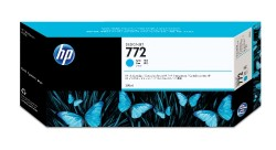 Hp - Hp 772-CN636A Mavi Kartuş - Orijinal