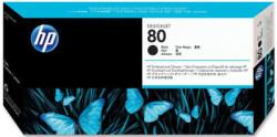 Hp - Hp 80-C4820A Siyah Baskı Kafası ve Kafa Temizleyici - Orijinal