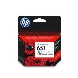 Hp - HP C2P11AE NO:651 MÜREKKEP KARTUŞ RENKLİ -ORJİNAL