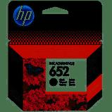 24 - HP F6V25AE No:652 MÜREKKEP KARTUŞ SİYAH