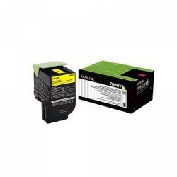 Lexmark - Lexmark CS310-70C8HY0 Yüksek Kapasiteli Sarı Toner - Orijinal