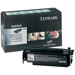 Lexmark - Lexmark T420-12A7415 Yüksek Kapasiteli Toner - Orijinal