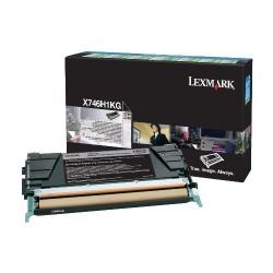 Lexmark - Lexmark X746-X746H1KG Siyah Toner - Orijinal
