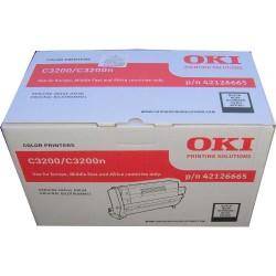 Oki - Oki C3200-42126665 Siyah Drum Ünitesi - Orijinal