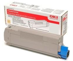 Oki - Oki C5250-42804572 Mavi Toner - Orijinal