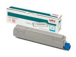 Oki - Oki C9600-42918963 Mavi Toner - Orijinal