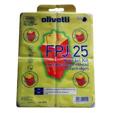 Olivetti - Olivetti FPJ-25 Siyah Kartuş - Orijinal