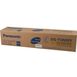 Panasonic - Panasonic DQ-TUN20 Sarı Fotokopi Toneri - Orijinal