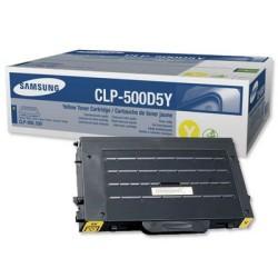 Samsung - Samsung CLP-500 Sarı Toner - Orijinal