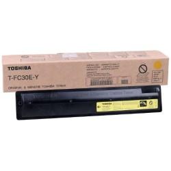 Toshiba - Toshiba T-FC30E-Y Sarı Fotokopi Toneri - Orijinal